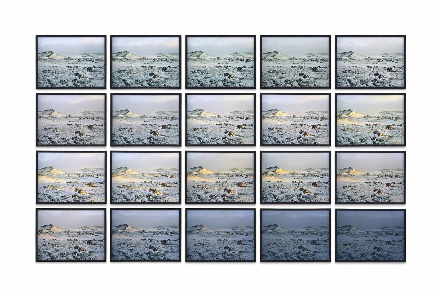 Olafur Eliasson-The Hekla Twilight Series-2006