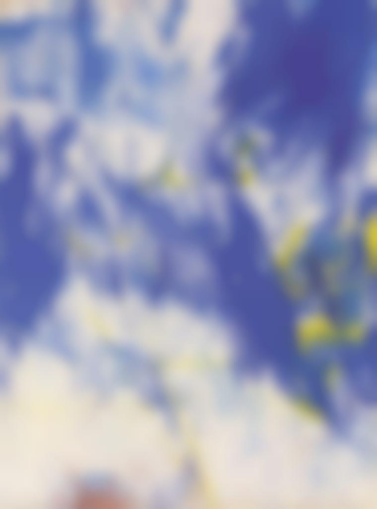 Sam Francis-No. 3 (Blue and Yellow)-1959