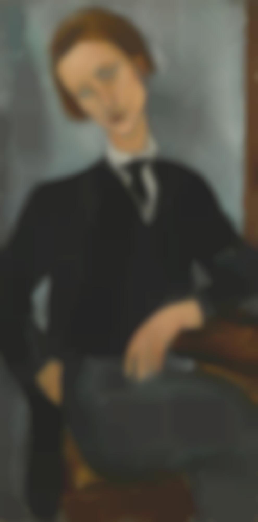 Amedeo Modigliani-Portrait De Baranowski-1918