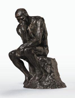 Auguste Rodin-Penseur, Petit Modele-1930