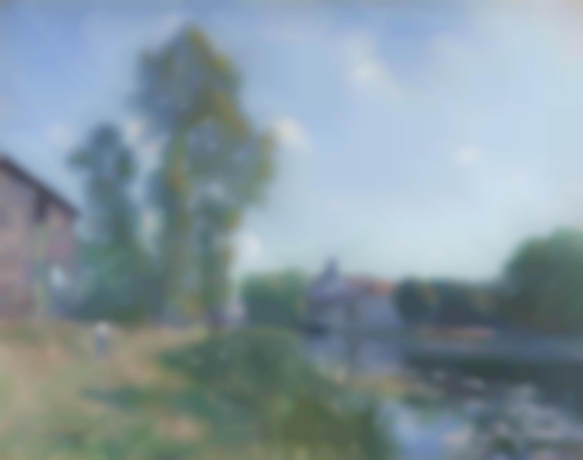 Alfred Sisley-Le Loing A Moret, En Ete-1891