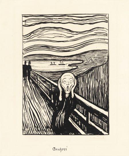 Edvard Munch-The Scream-1895