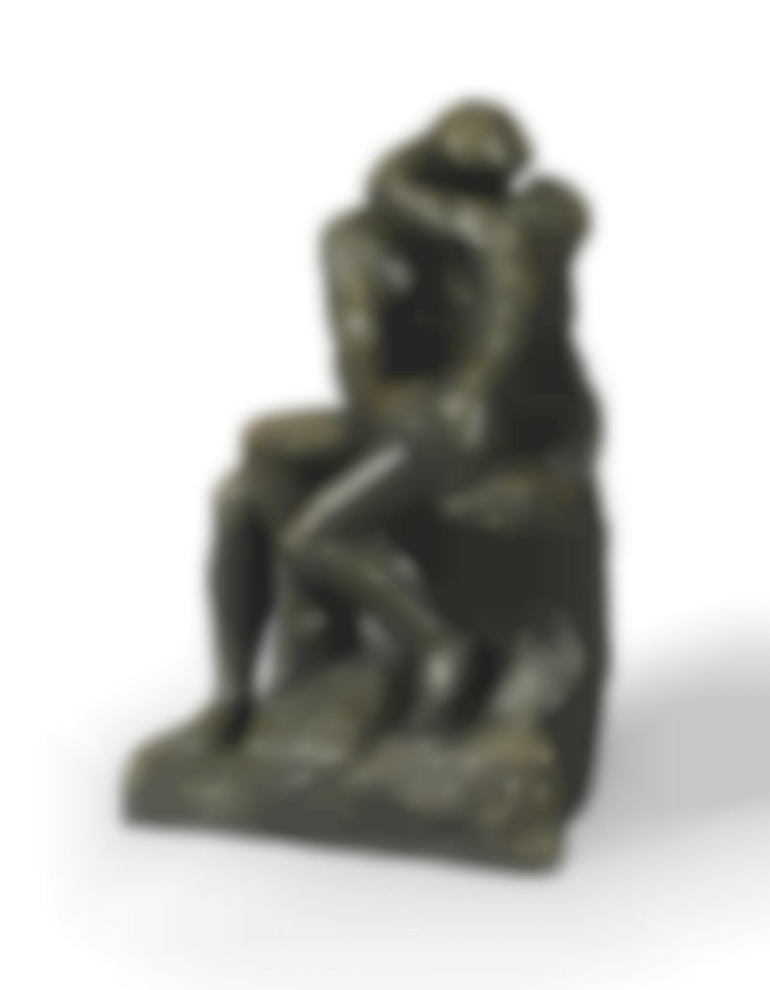 Auguste Rodin-Baiser, 1Ere Reduction-1914