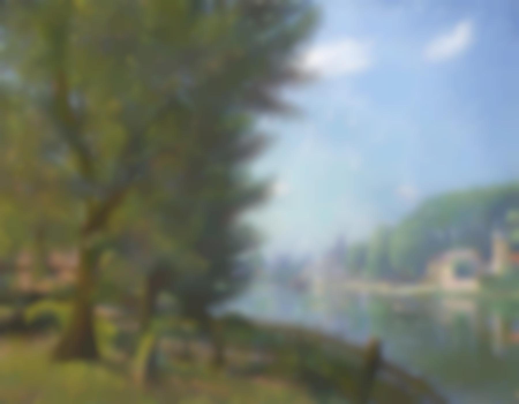 Francis Picabia-Le Loing A Moret-1905