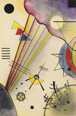 Wassily Kandinsky-Deutliche Verbindung (Clear Connection)-1925