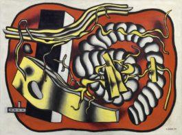 Fernand Leger-Composition Au Cordage-1935