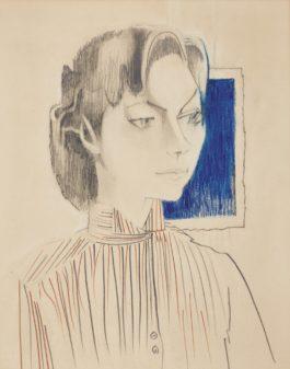 Francoise Gilot-Germaine II-1955
