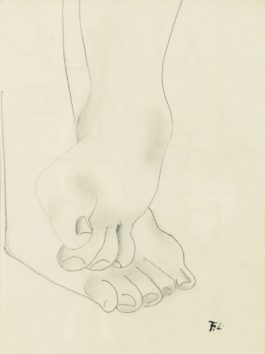 Fernand Leger-Pieds - Recto Composition - Verso-1944
