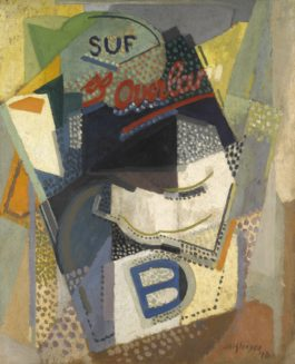 Albert Gleizes-Overland Or Study Of New York-1916
