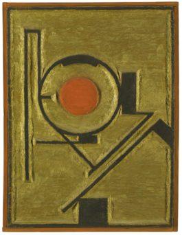 Erich Buchholz-Holzrelief 12 II (Wood Relief 12 II)-1921