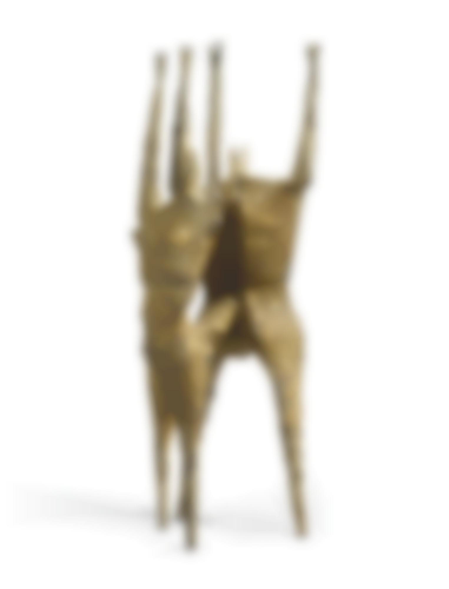Lynn Chadwick-Untitled (Two Figures)-1957