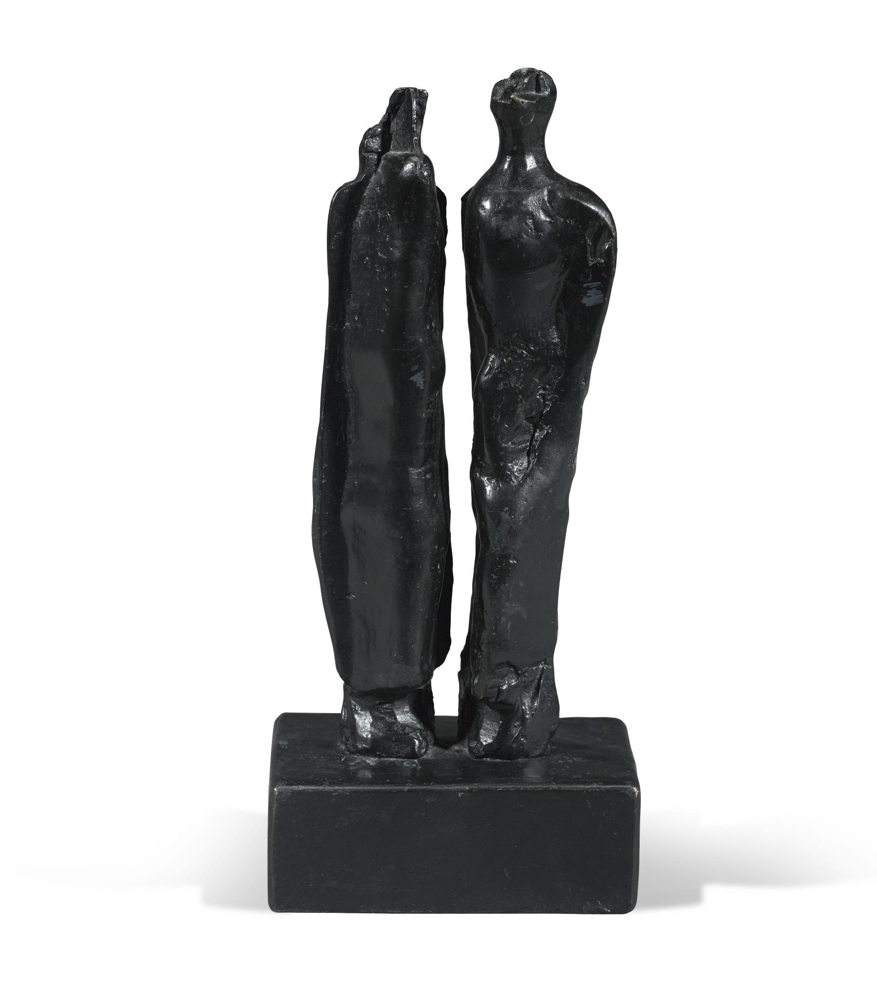 Henry Moore-Man And Woman II-1978