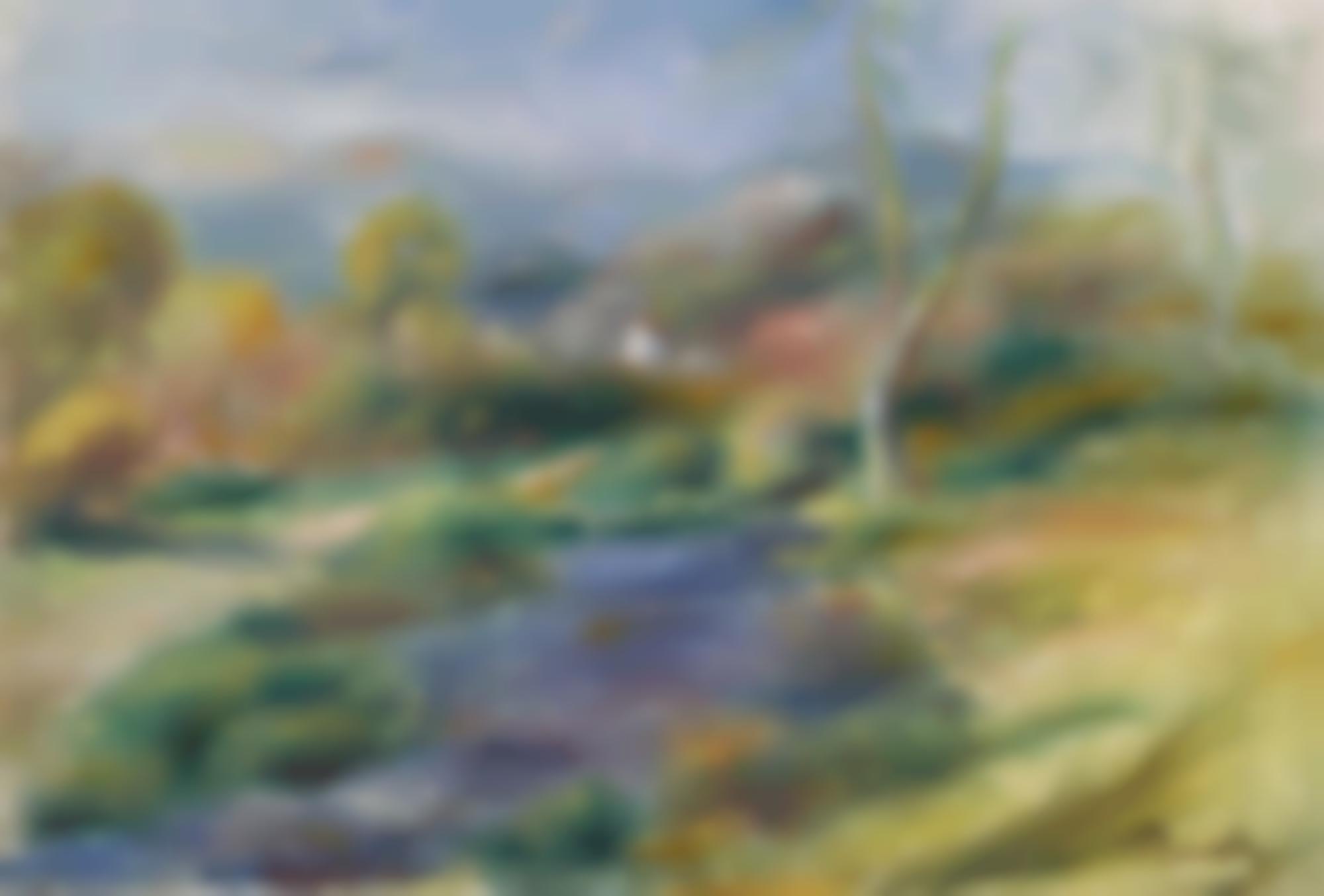 Pierre-Auguste Renoir-Paysage Au Beal-1904