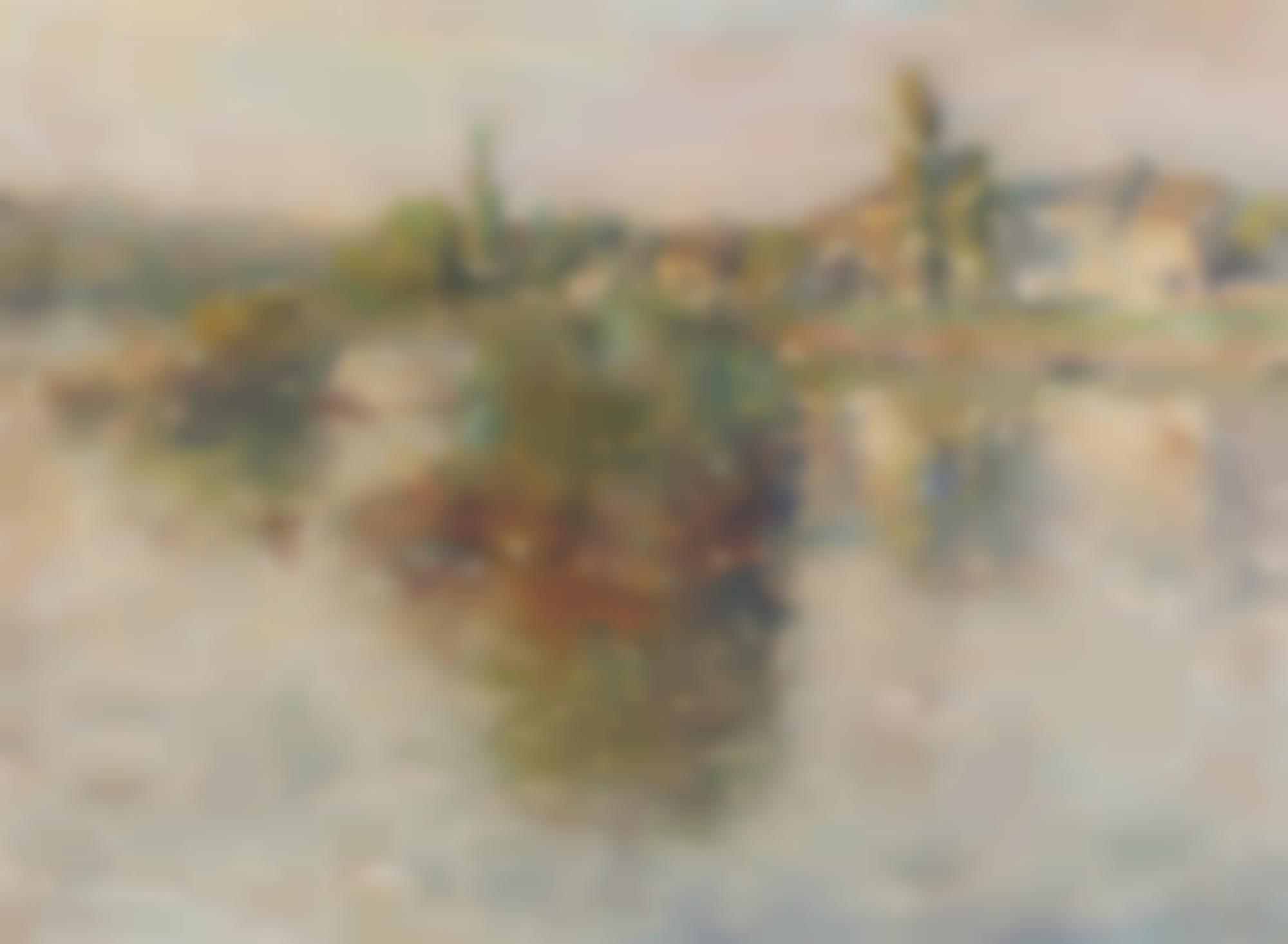 Claude Monet-La Seine A Lavacourt-1879