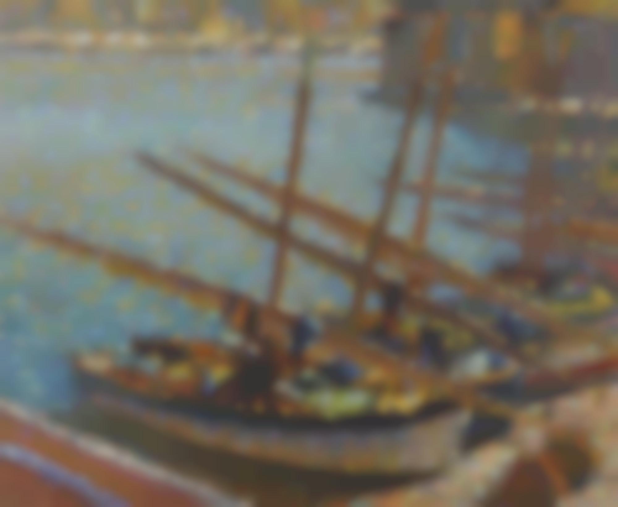 Henri Martin-Barques A Collioure-1920