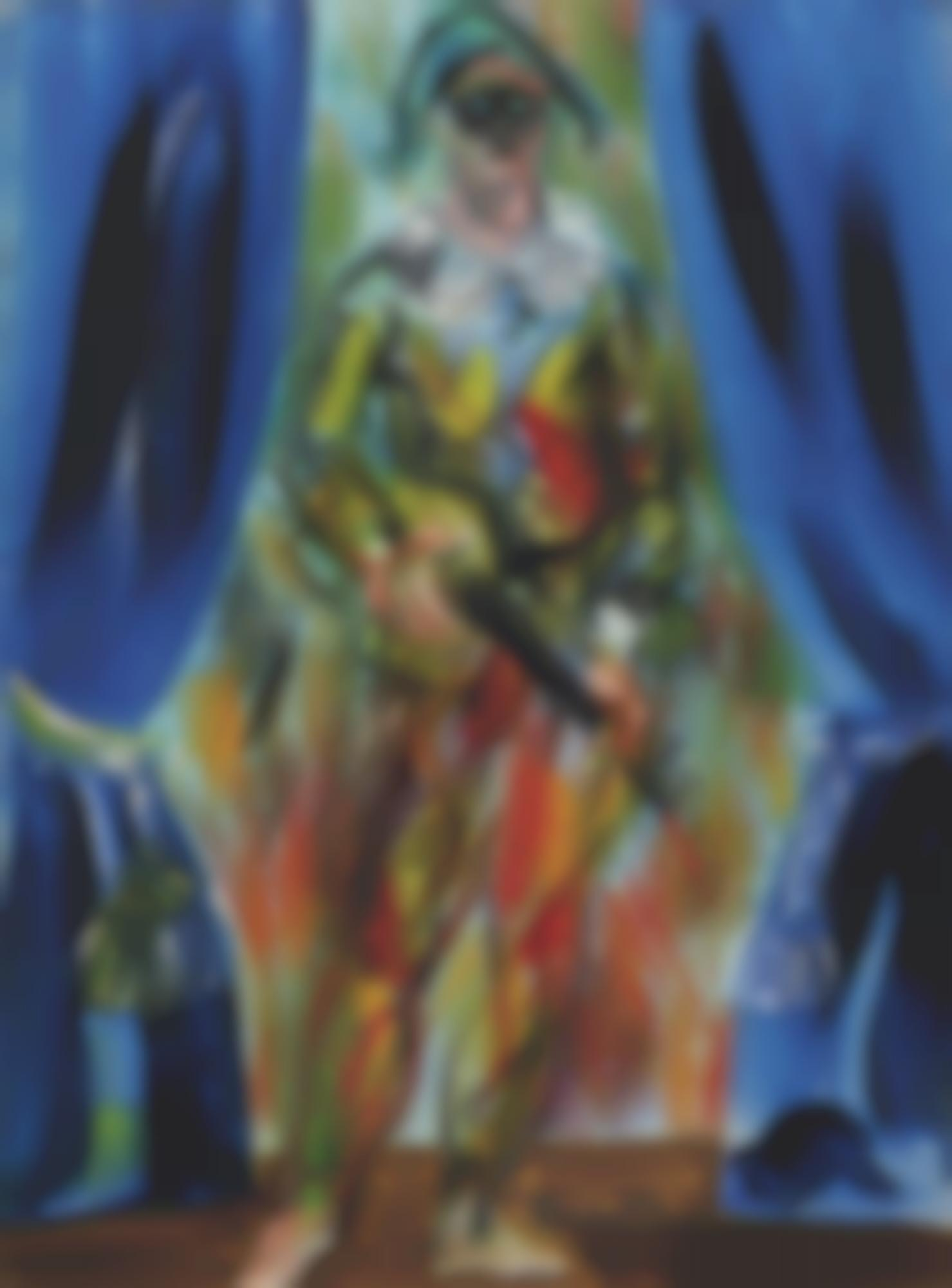 Raoul Dufy-L'Arlequin-1939