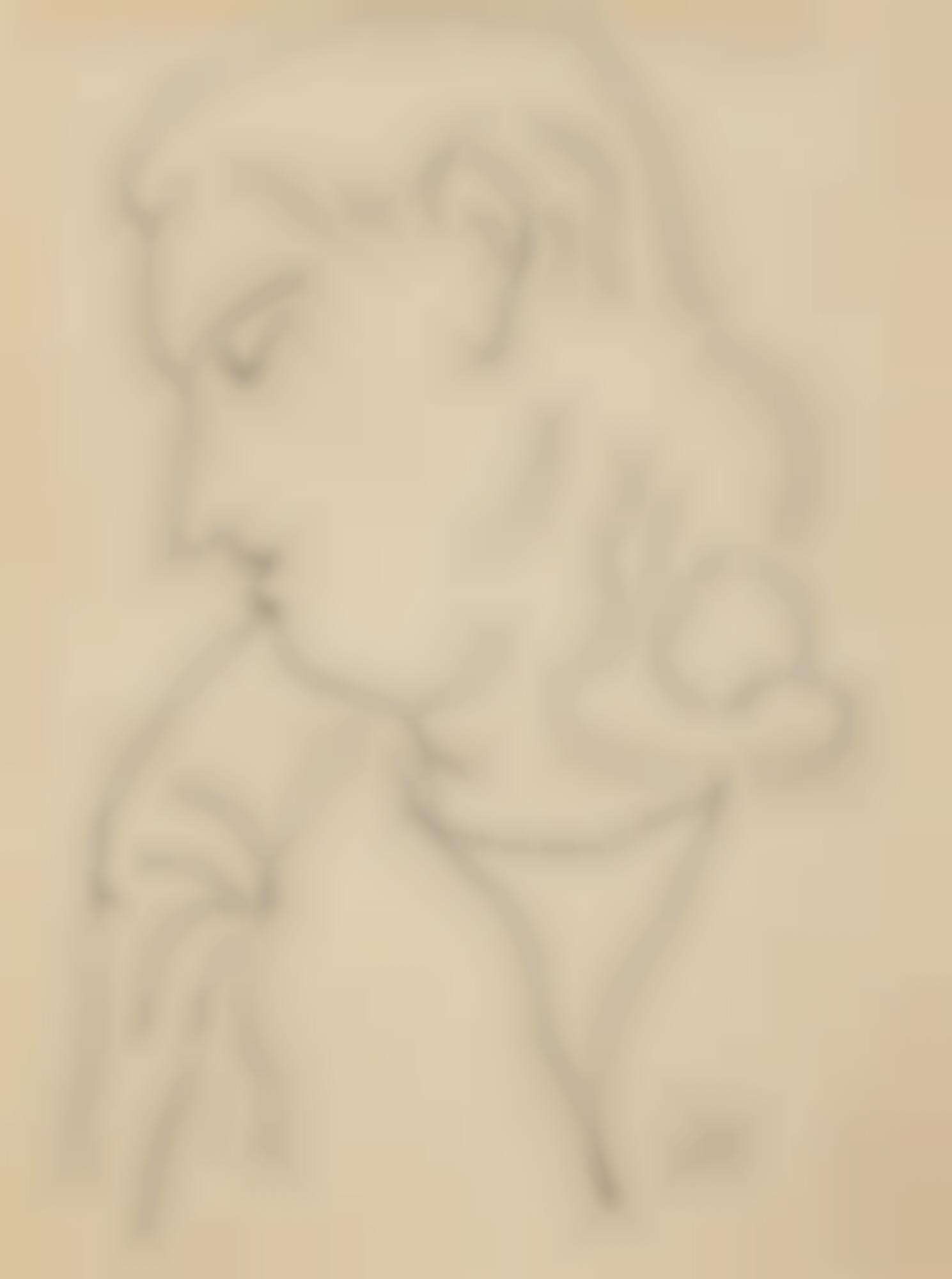 Henri Matisse-Tete De Femme En Profil-1943