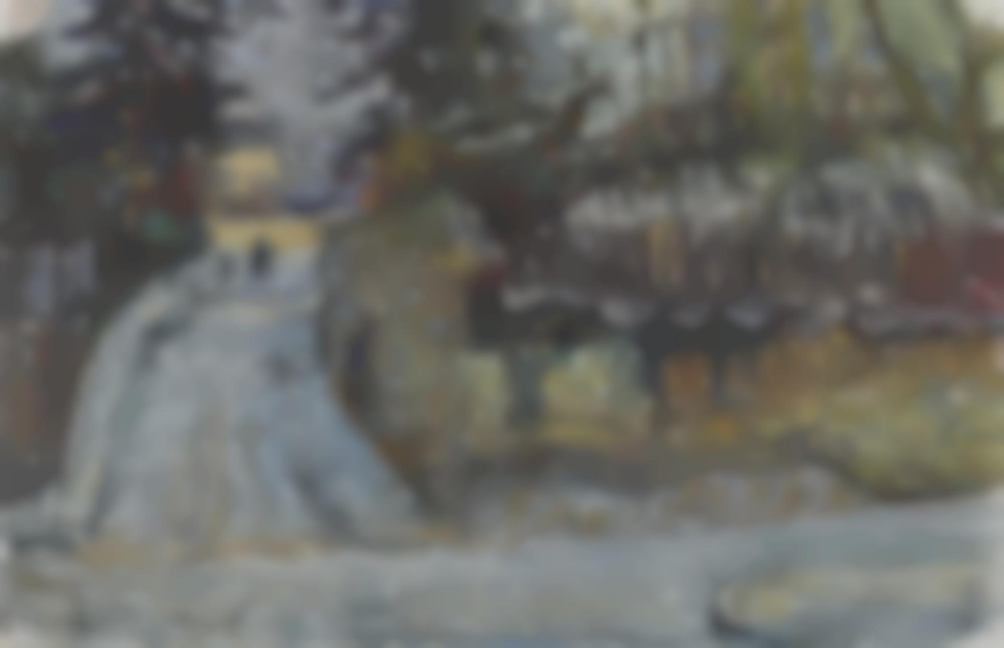 Gabriele Munter-Schnee In Sevres (Snow In Sevres)-
