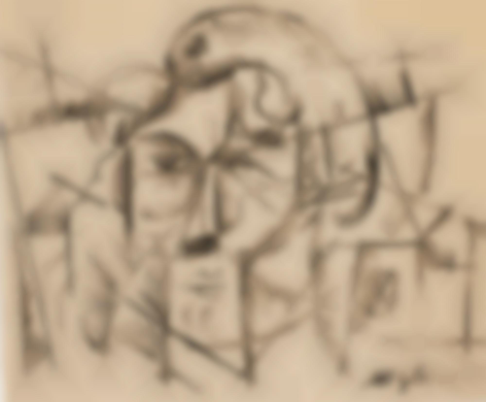 Albert Gleizes-Tete D'Homme-1913