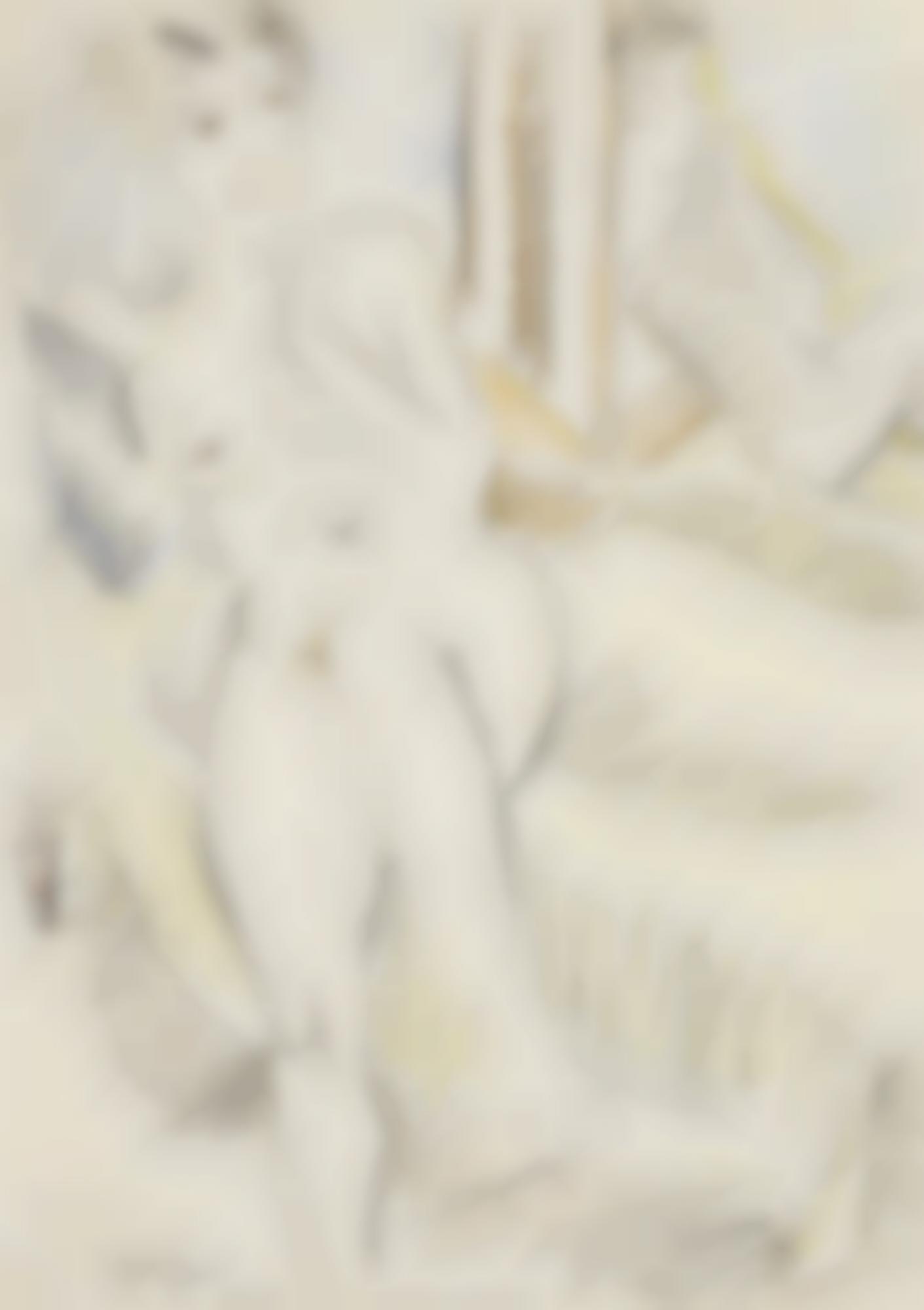 Max Pechstein-Akt Mit Spiegel (Nude With Mirror)-1920