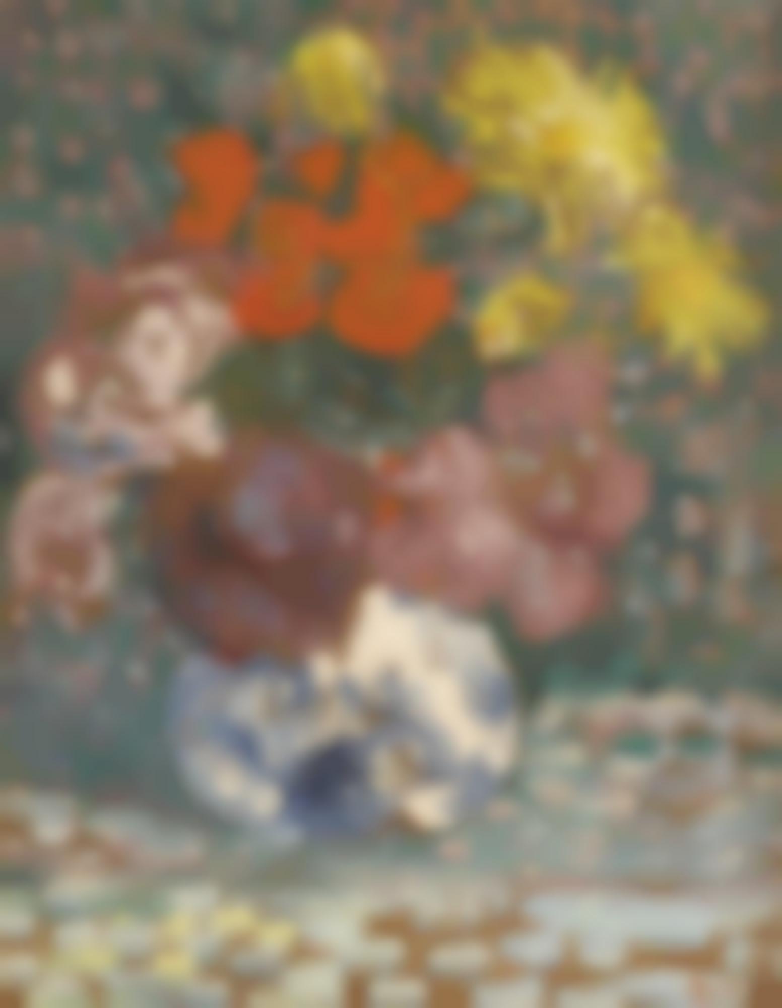 Louis Valtat-Vase De Fleurs-1905