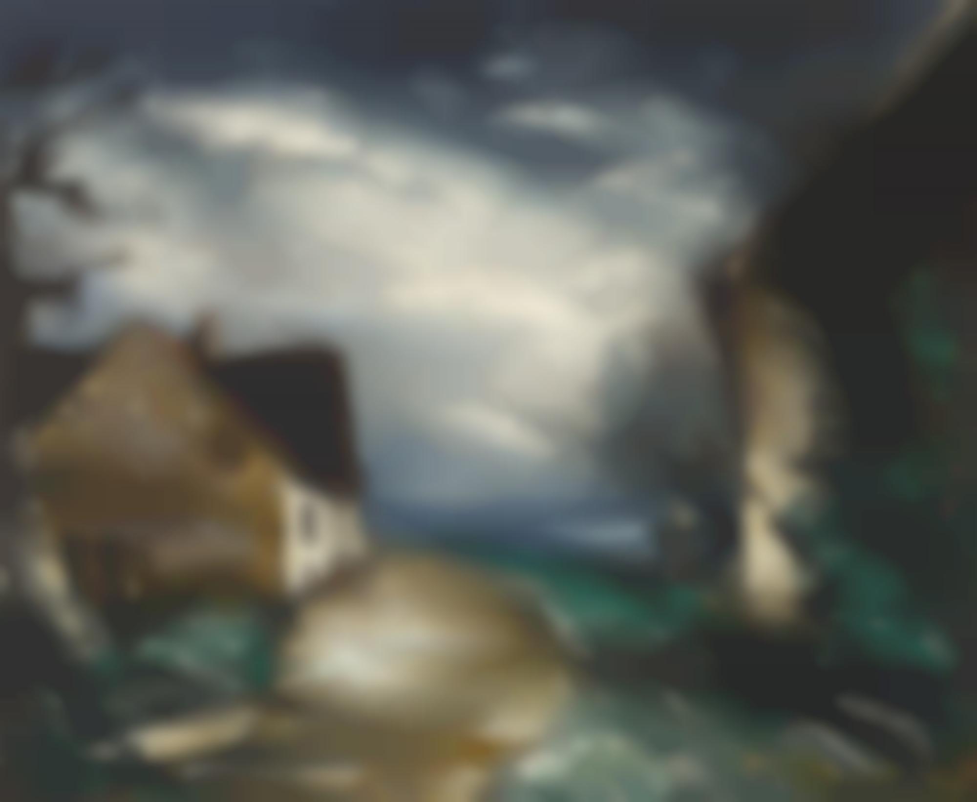 Maurice de Vlaminck-Paysage De Campagne-
