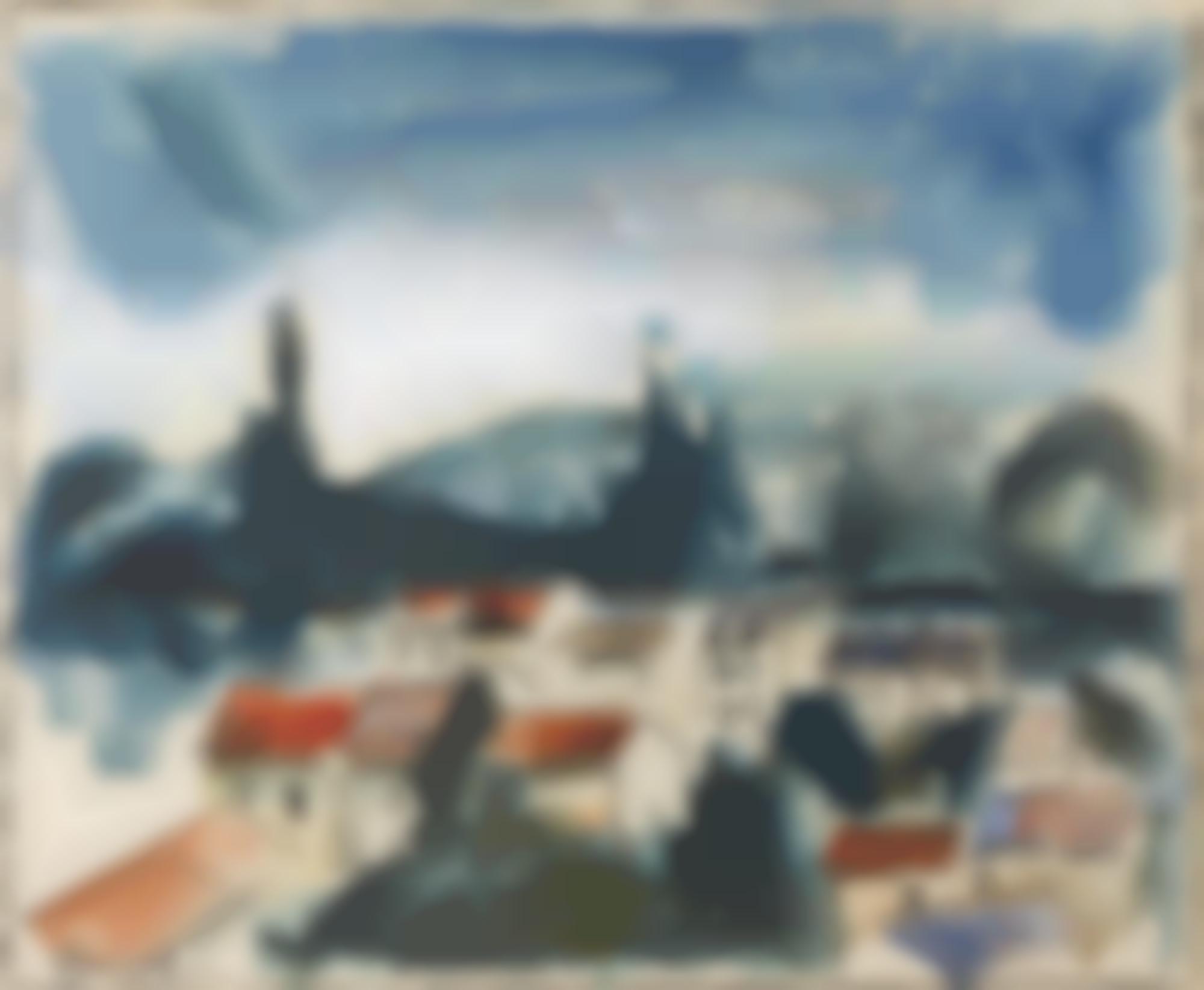 Maurice de Vlaminck-Les Toits Du Village-