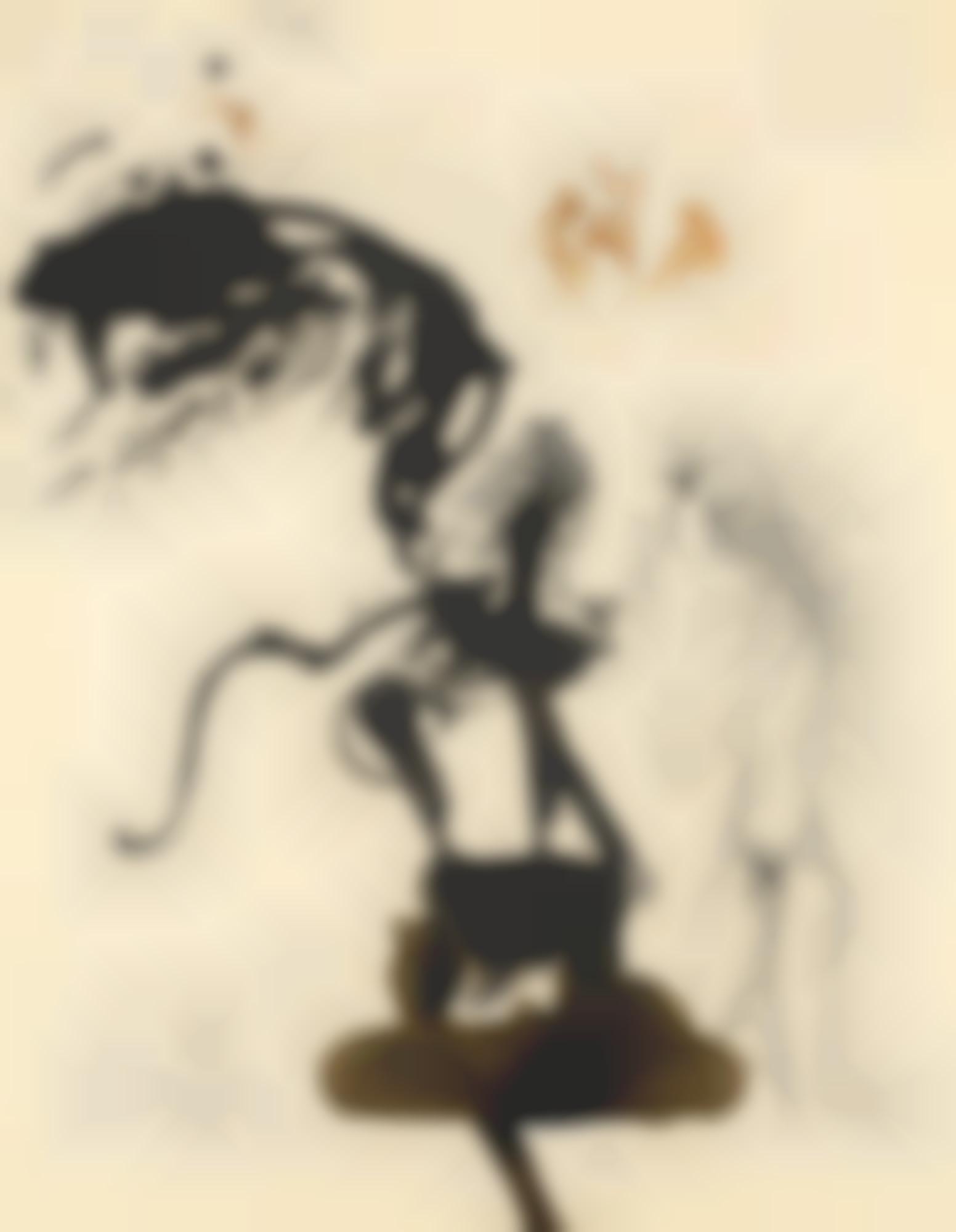 Salvador Dali-Œdipe Et Le Sphinx-1964