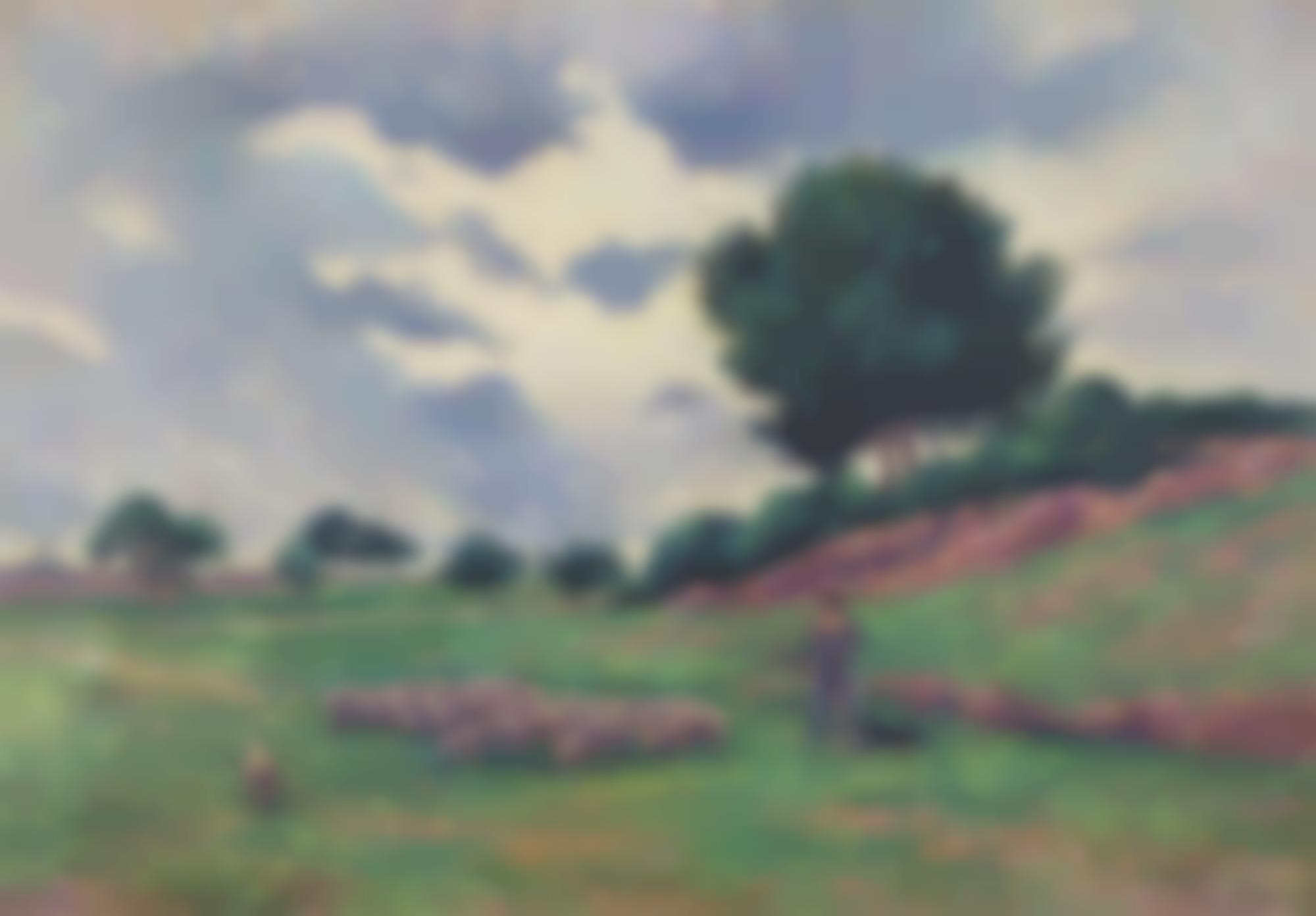 Maximilien Luce-Mereville, Le Troupeau De Moutons-1903