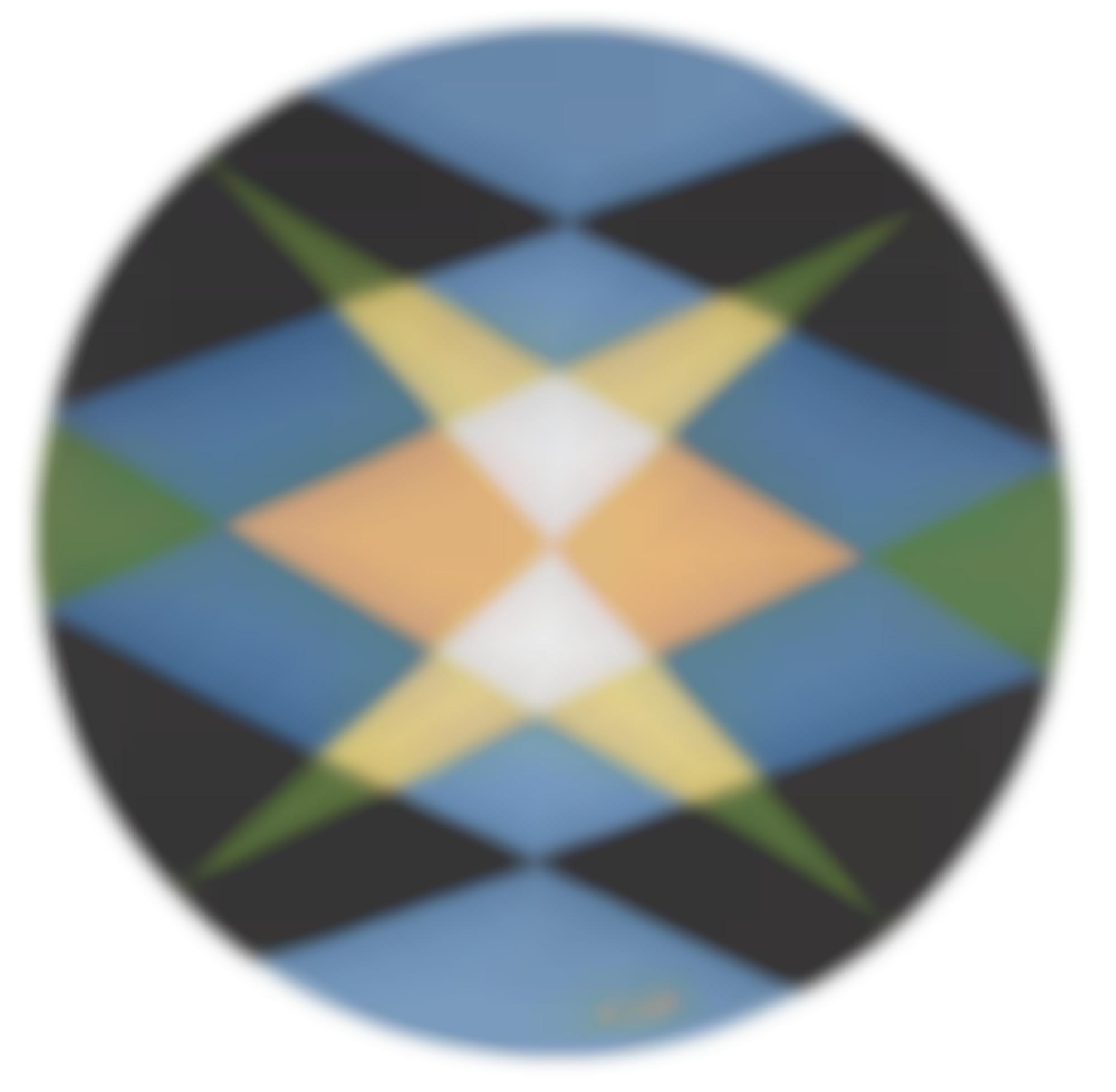 Giacomo Balla-Motivo Geometrico (Geometric Motif)-1920