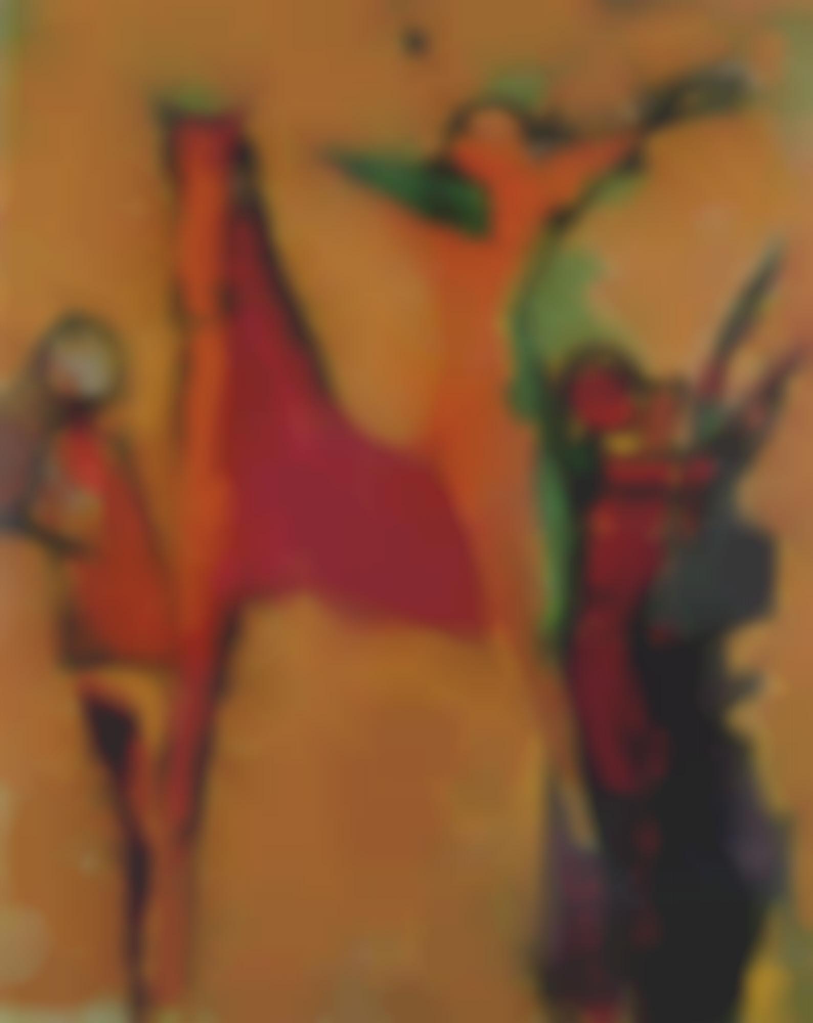 Marino Marini-Composizione Di Giocolieri (Composition With Jugglers)-1956