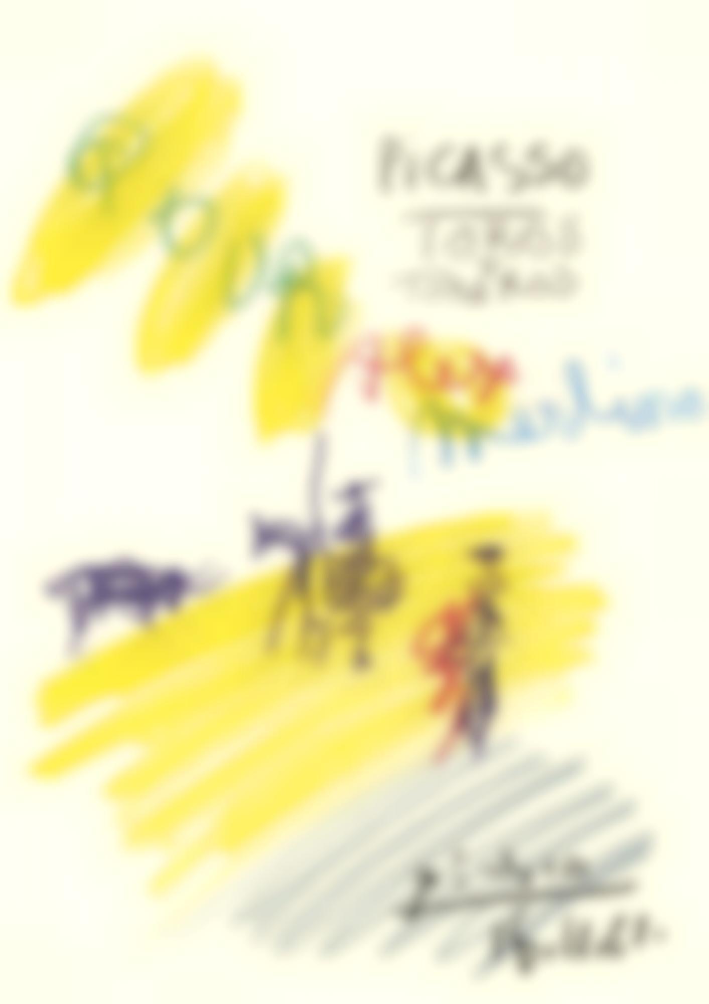 Pablo Picasso-Scene De Tauromachie-1961
