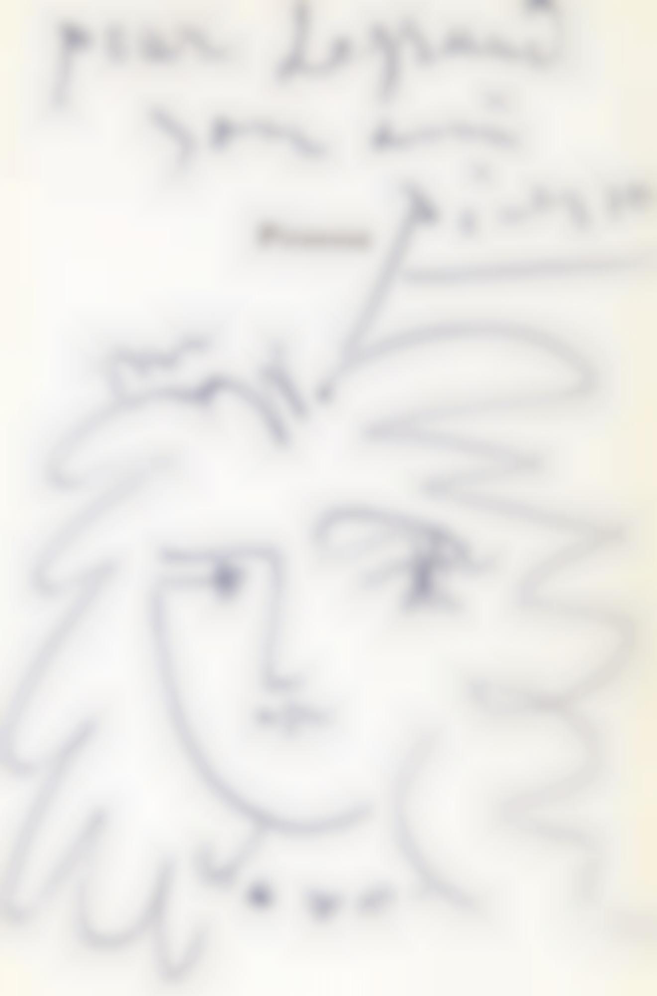 Pablo Picasso-Portrait De Femme-1951