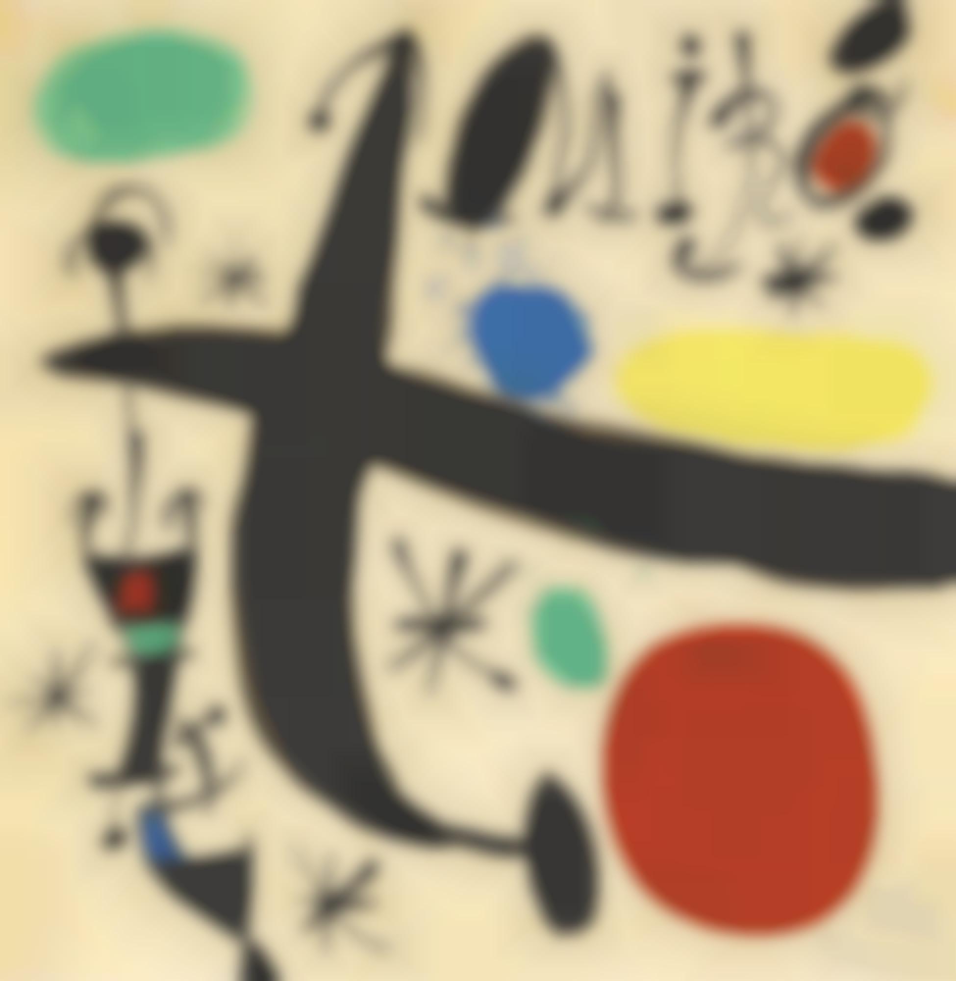Joan Miro-Projet Pour 'Miro I Catalunya'-1968