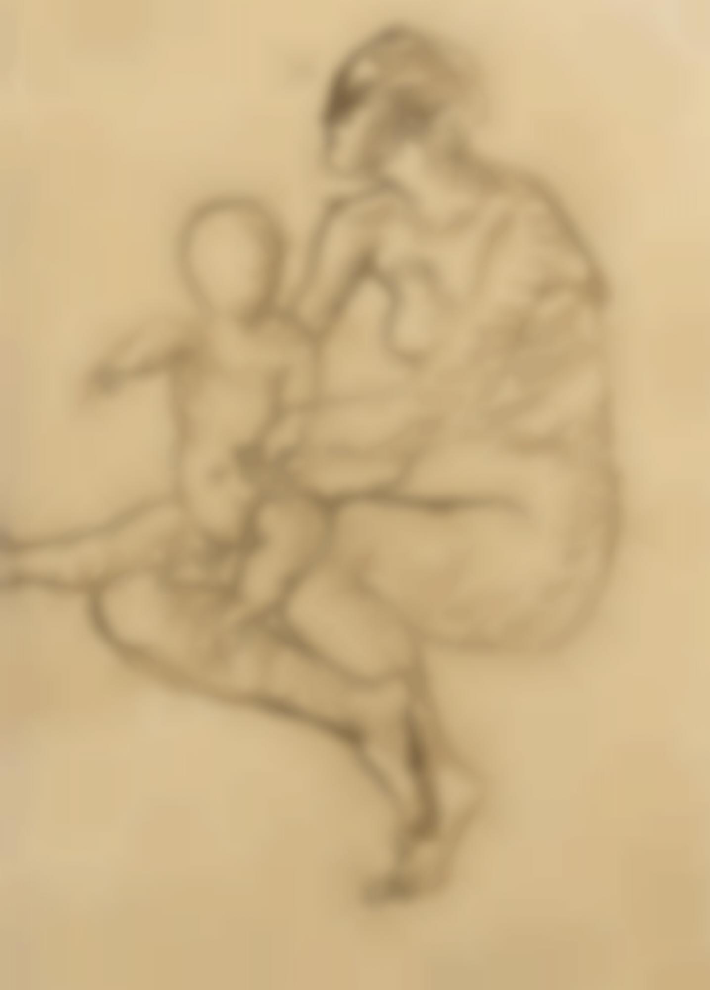 Pablo Picasso-Mere Et Enfant (Maternite)-1905