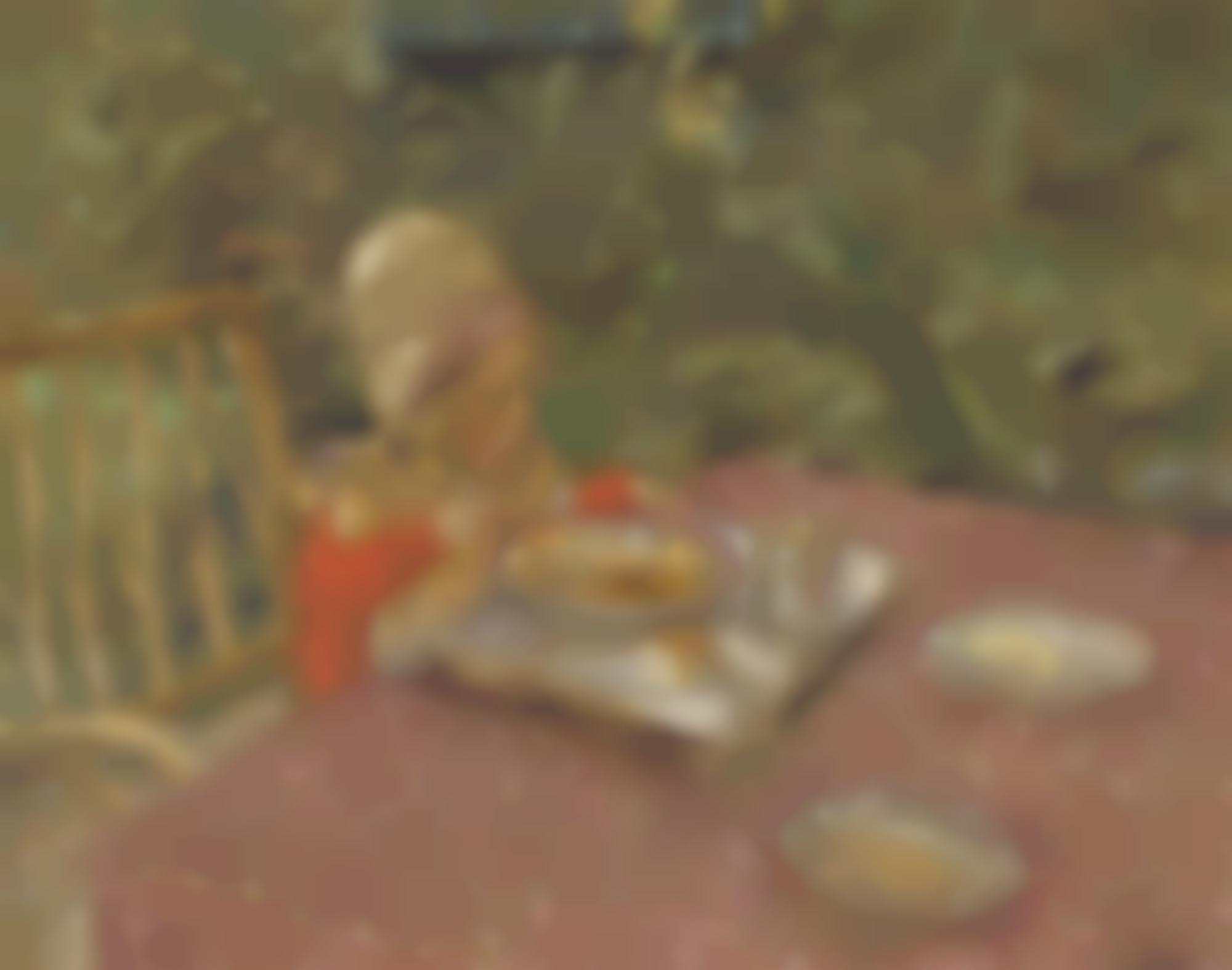 Edouard Vuillard-Le Dejeuner Du Petit Jean Gosset En Normandie-1911
