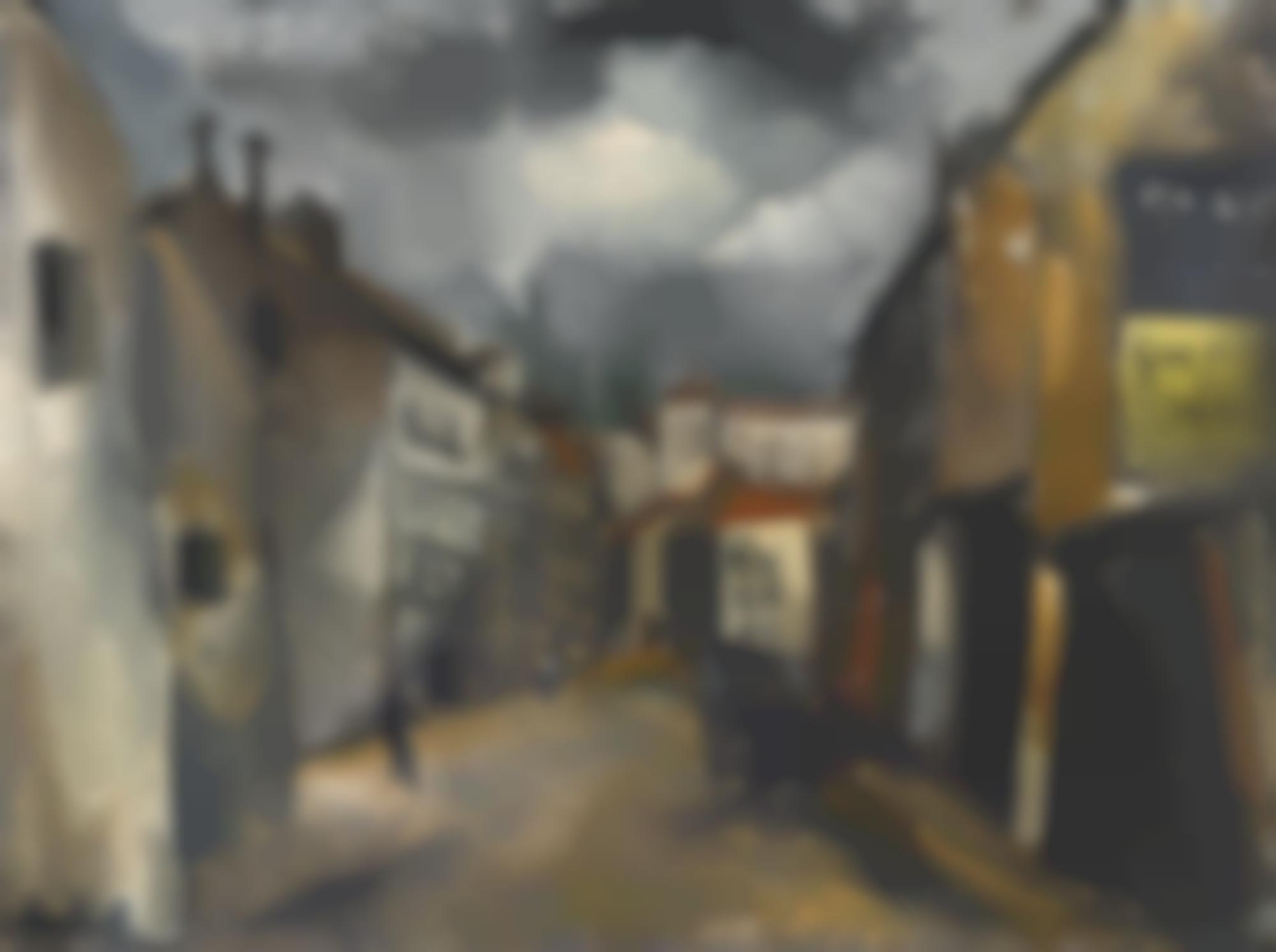 Maurice de Vlaminck-La Vieille Rue-1920