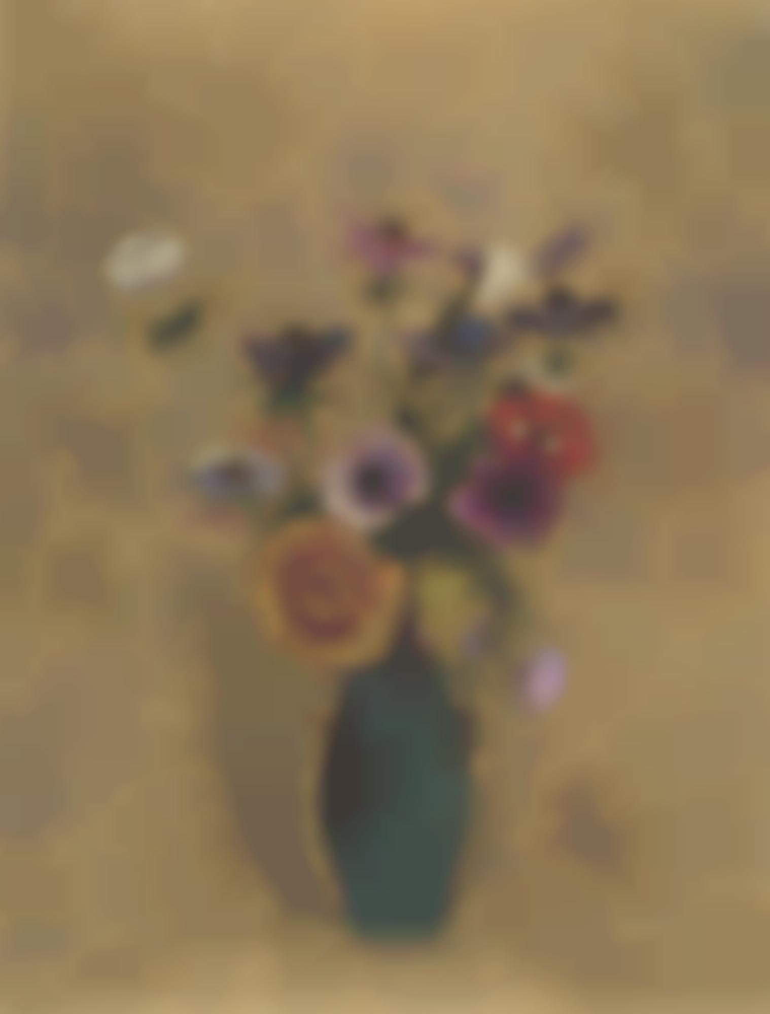 Odilon Redon-Vase De Fleurs-