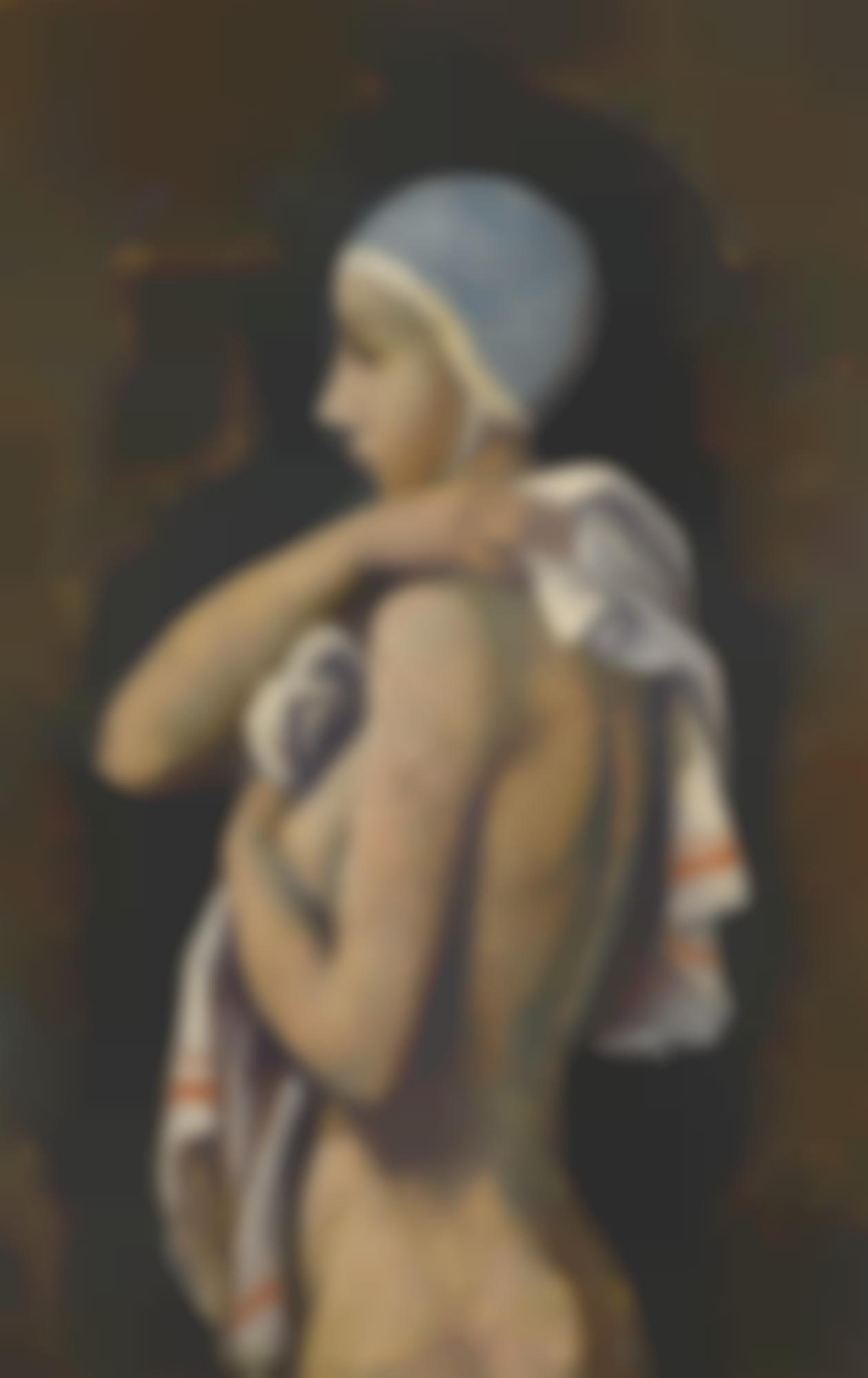 Karl Hofer-Nach Dem Bad (After The Bath)-1940