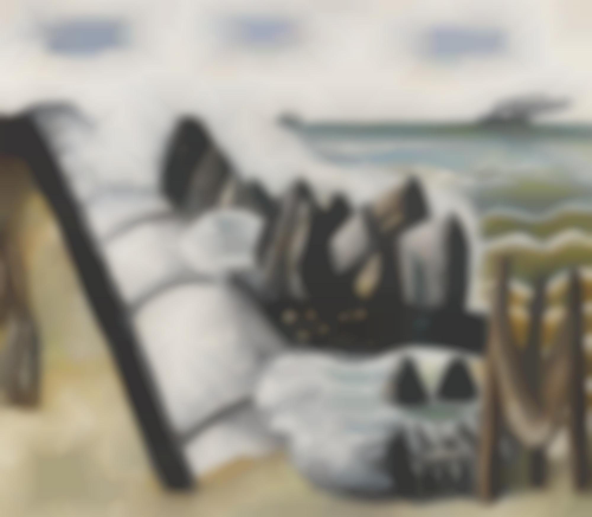 Max Beckmann-Brandung, Kleine Marine (Breakers, Small Marine)-1926
