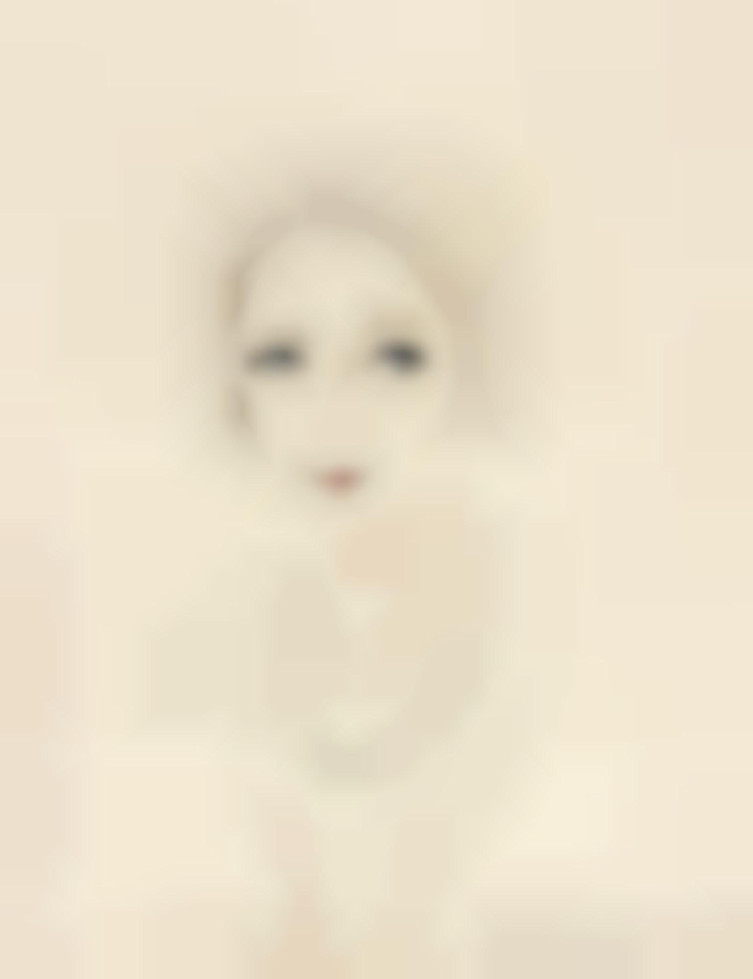 Francis Picabia-(Sans Titre) Portrait De Femme-1927