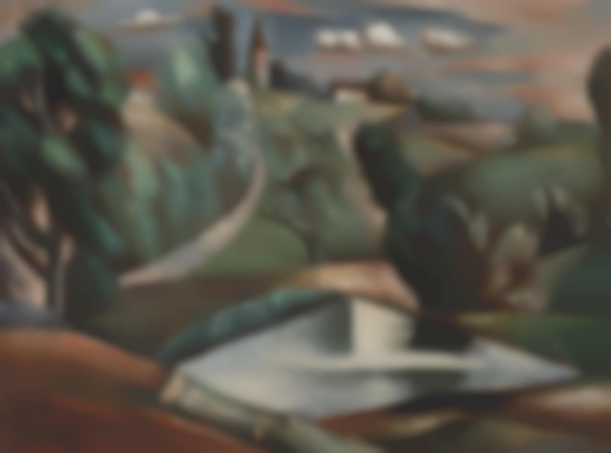 Andre Lhote-Paysage De Vic-Sous-Thil-1921