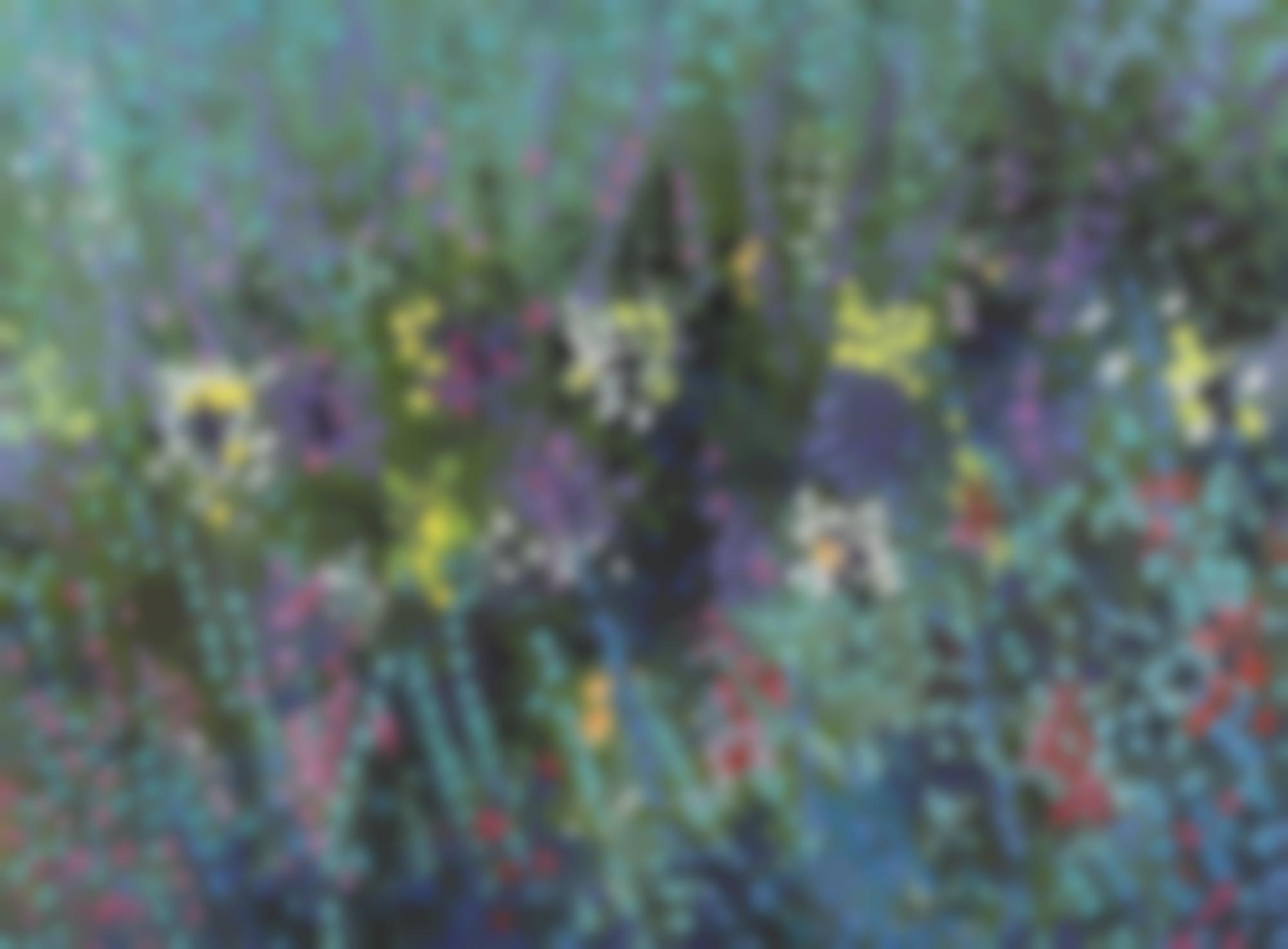 Serge Mendjisky-Le Jardin Anglais-1988