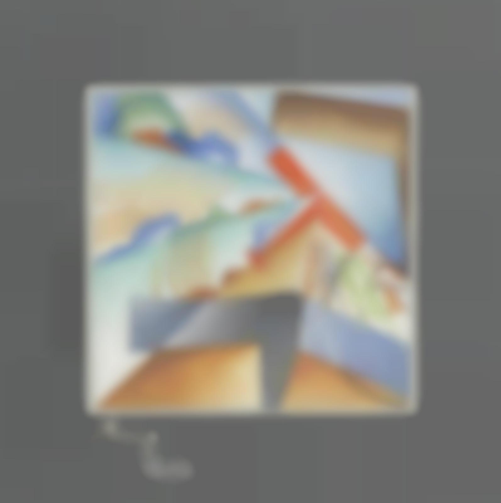 Mino delle Site-Sintesi di virata; Aeropittura; Sogno dell'aviere-1932