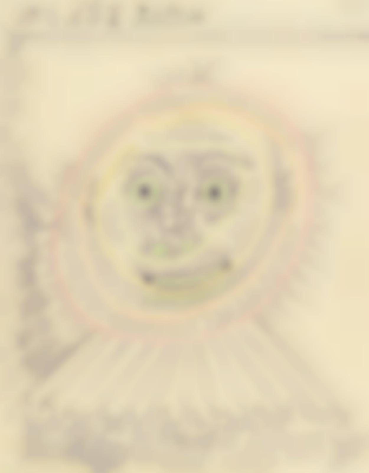 Pablo Picasso-Tete d'homme de face-1968
