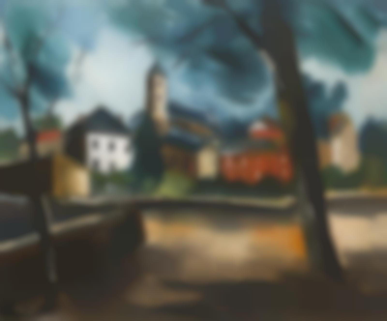 Maurice de Vlaminck-La petite place-1915