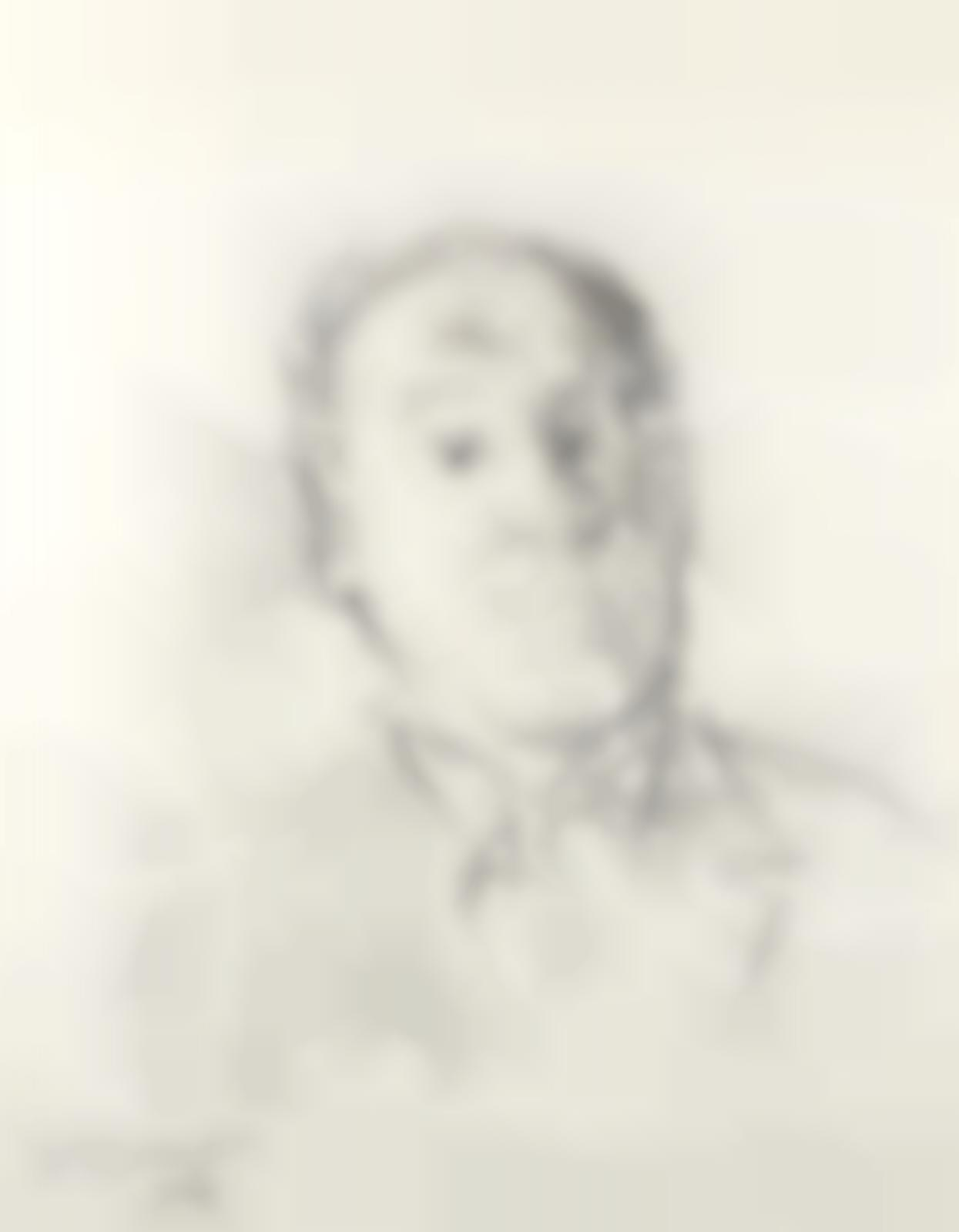 Oskar Kokoschka-Portrait von Josef Paul Hodin-