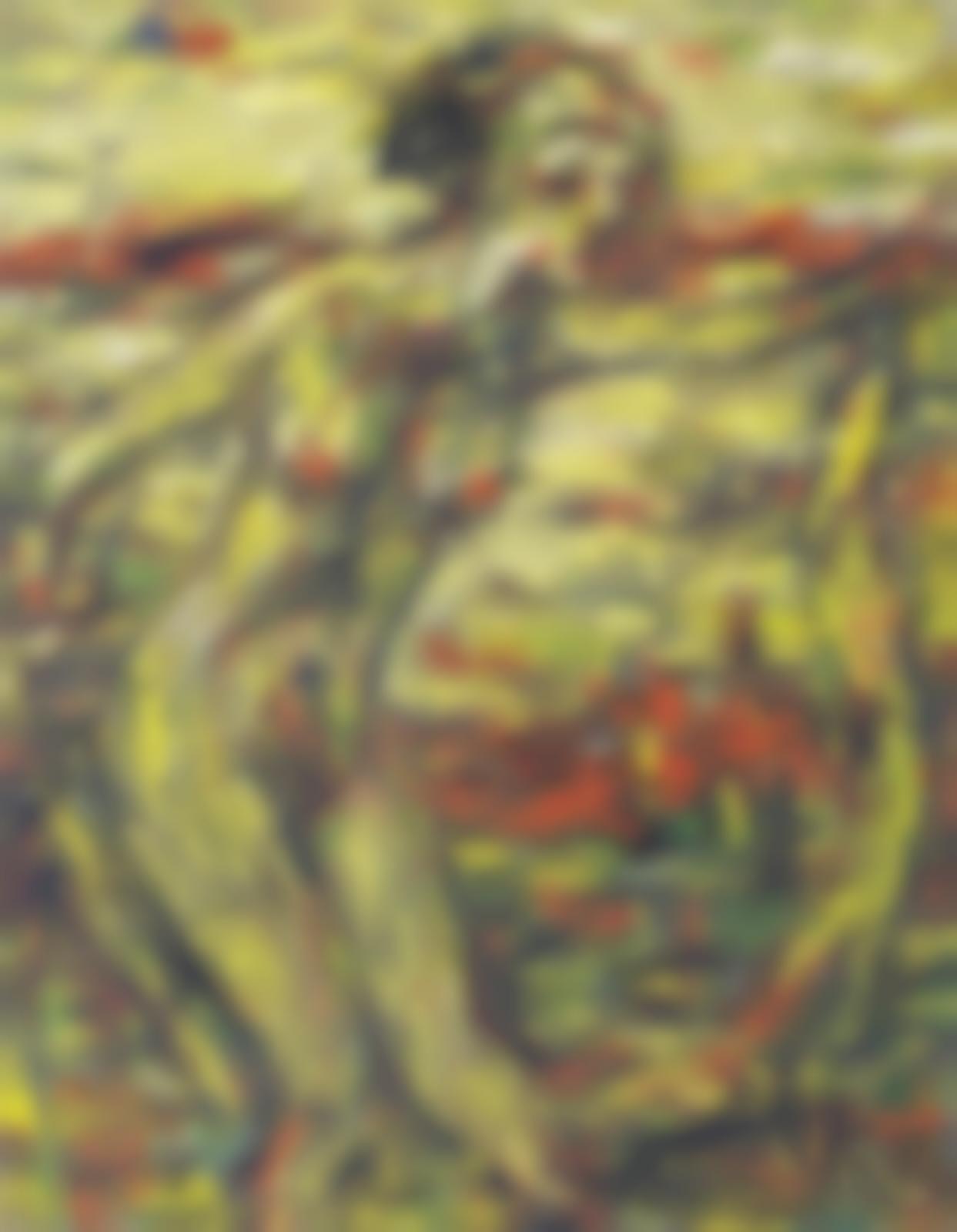 Christian Rohlfs-Tanzerin mit Schleier-1928