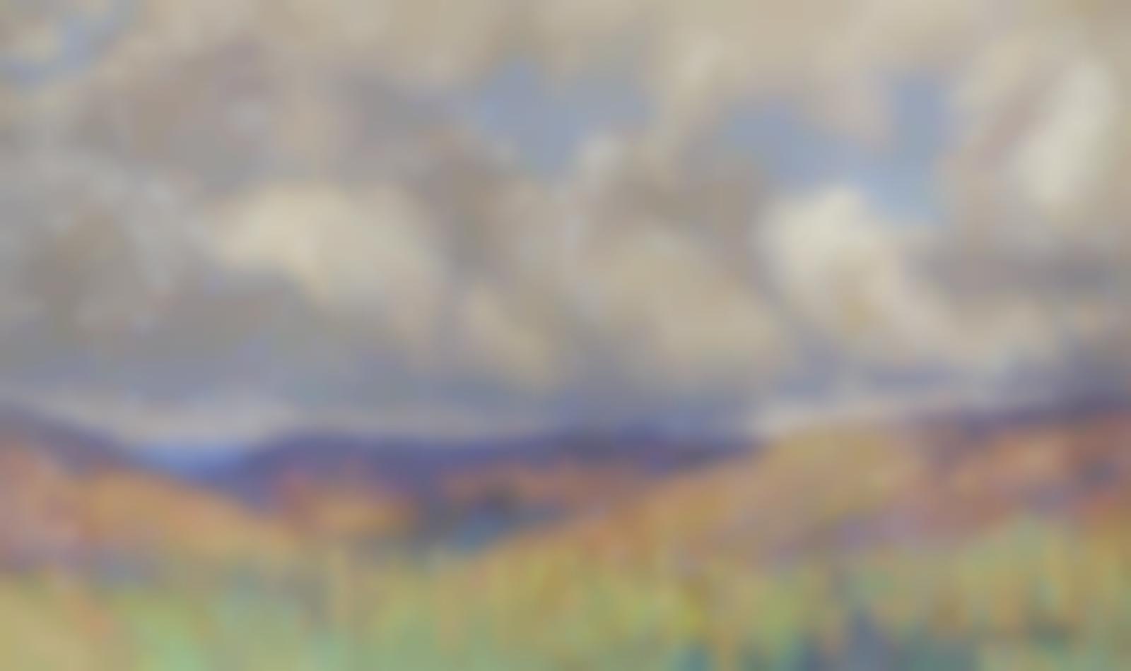 Henri Martin-Paysage-