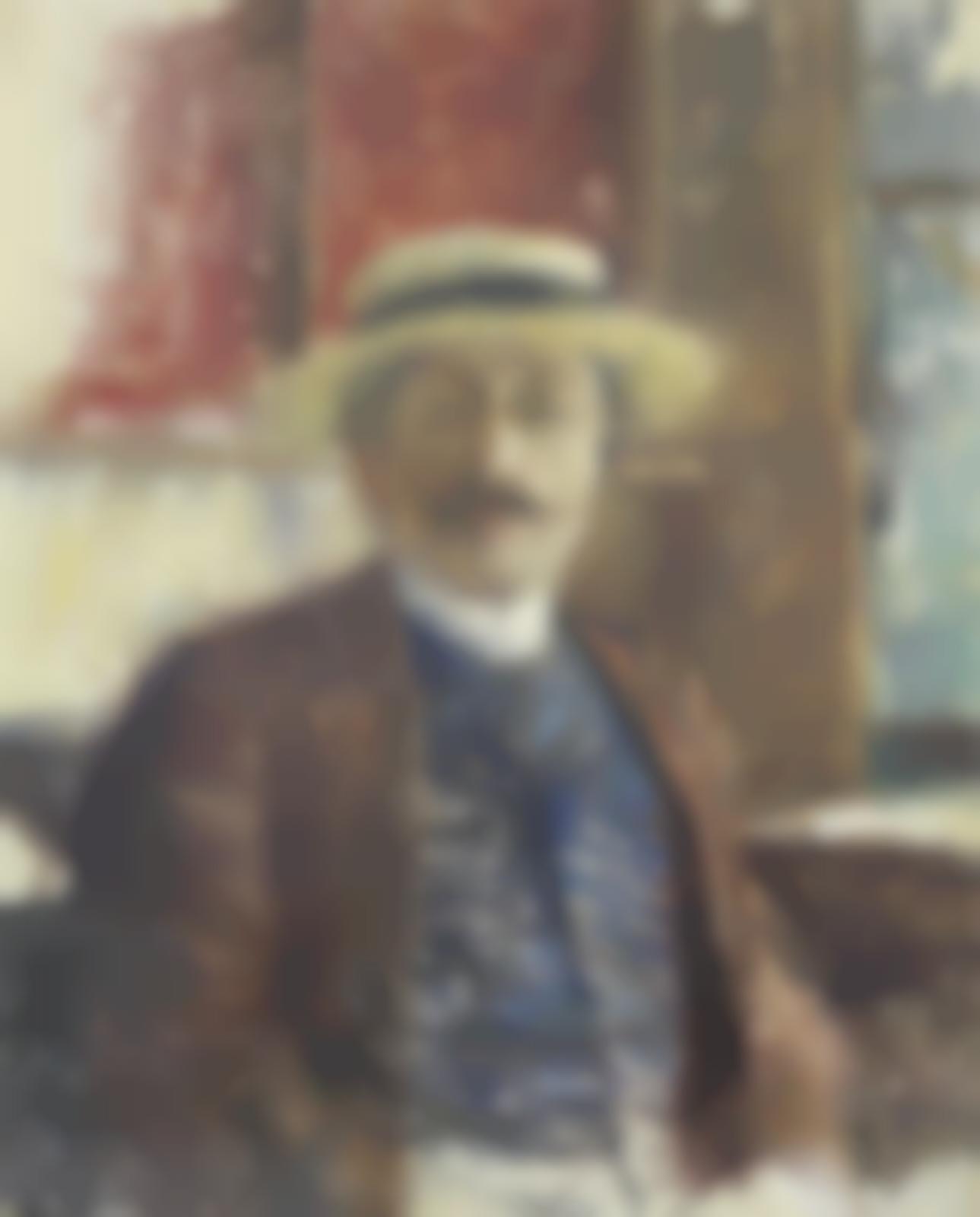 Henri Martin-Portrait d'Albert Sarraut-1897